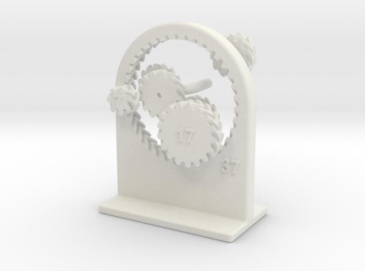 Looney Gears 3d printed Turning slightly