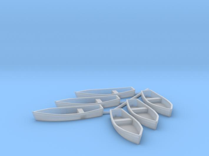 ho rowboats 3d printed