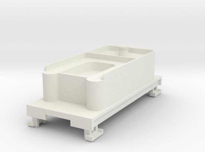 HOn30 tender for 2-8-0 steam loco 3d printed