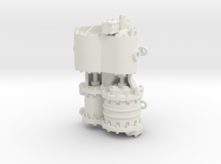 Westinghouse CC 1.5 Scale 3d printed