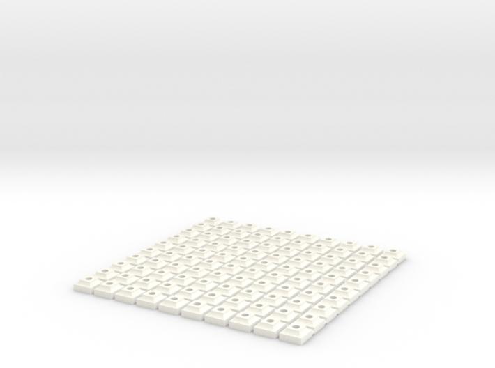 Hundred Catenary Pillars 3d printed