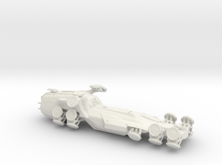 Novalis Matrix hovercraft 3d printed