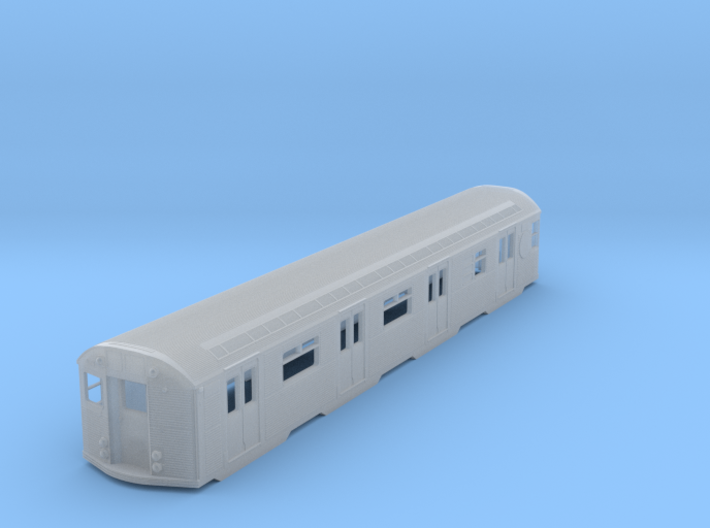 N Scale Budd R32 Subway Car Body Shell 3d printed