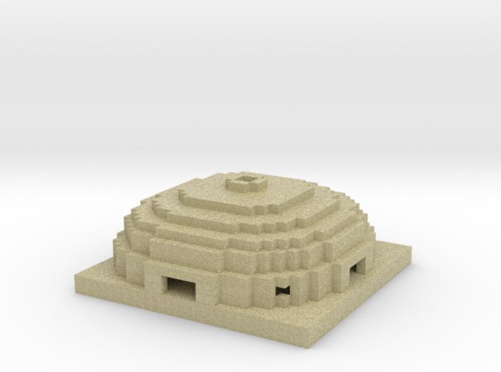 sandstone dome 3d printed