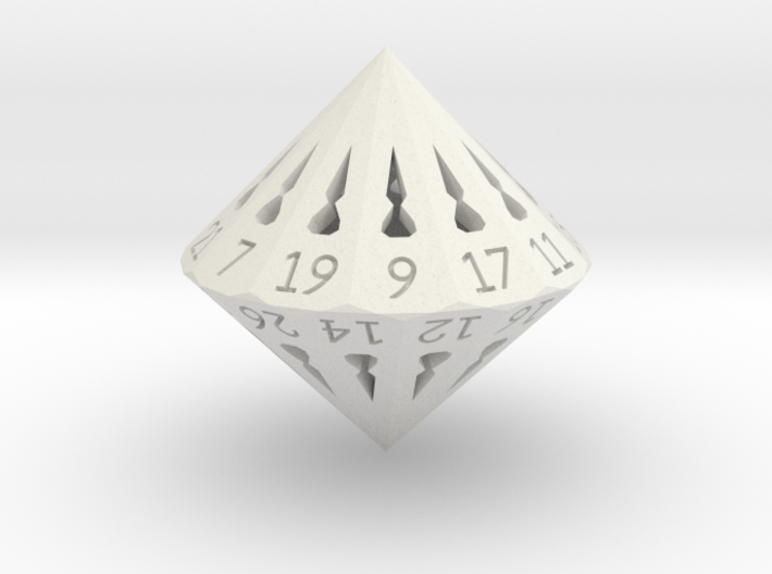 26 Sided Die - Regular 3d printed
