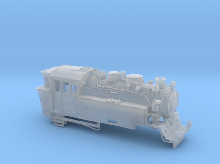 BR 996001 Spur H0m (1:87) 3d printed