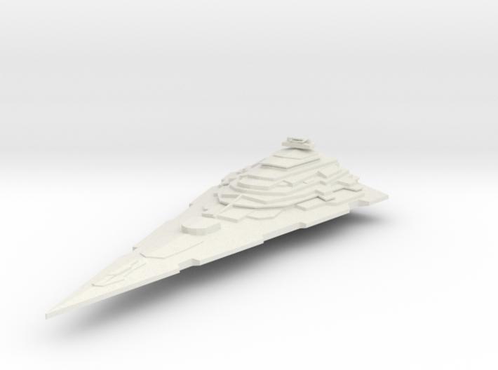 imperial titan v001 hollow 3d printed