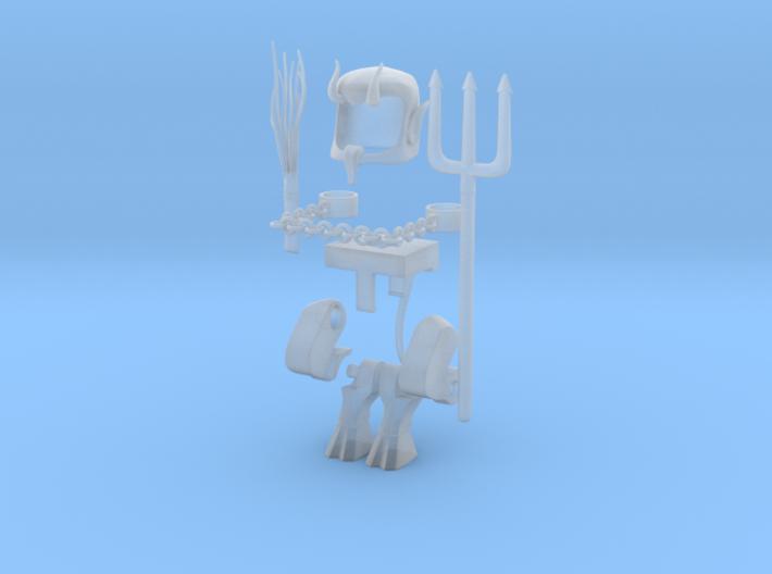 Krampus bundle for Minimates part 1 3d printed