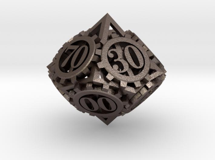 Steampunk Gear d00 3d printed