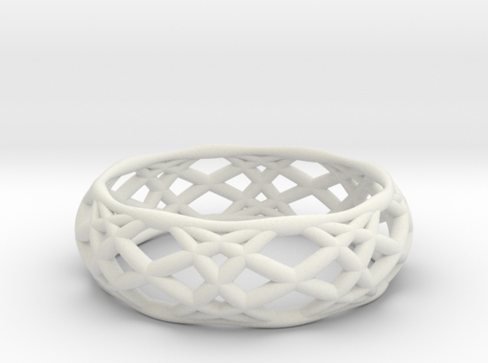 Sine Ring Bulge 3d printed