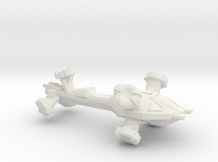 Digitorium Warp Bubble Frigate 3d printed