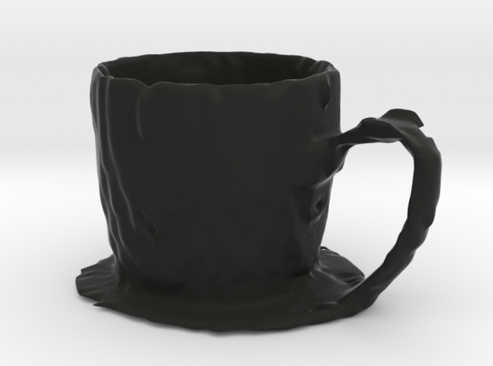 Coffee mug #7 XL - Melted 3d printed
