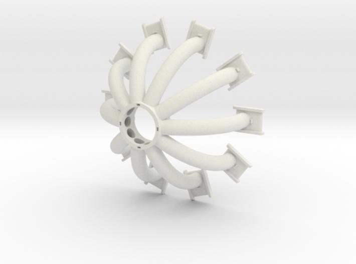 Arc reactor v2 - Bottom part coils v2 3d printed