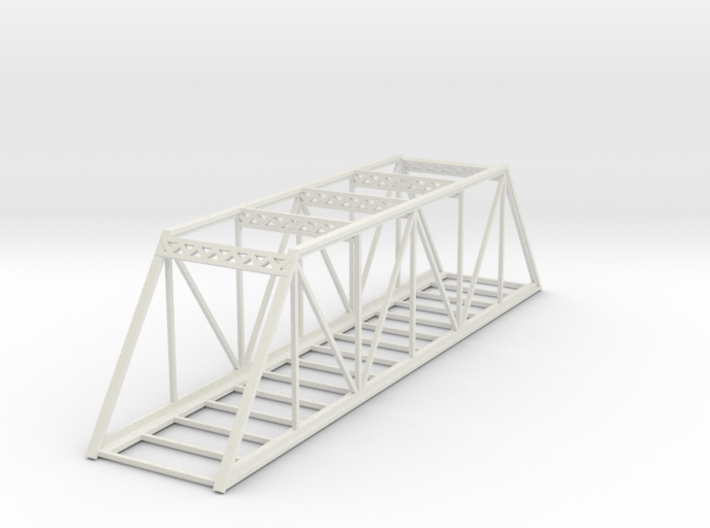 Straight Bridge - Z scale 3d printed