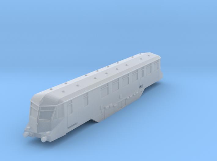 GWR Railcar - T - 1:450 3d printed
