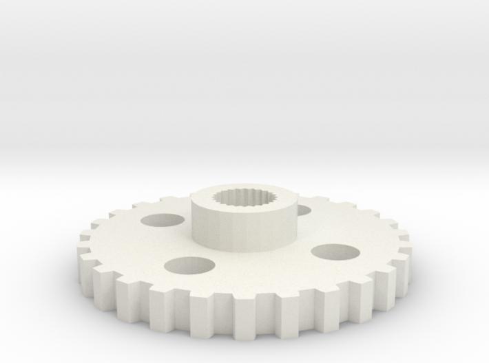 gyrocam servo gear v2 3d printed
