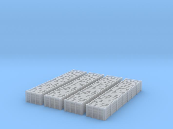 Bogey Bricktrucks 4pack 3d printed