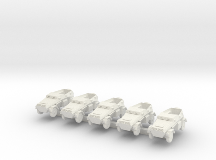 1/300 Sd.Kfz.247 B Armoured Staff Car 3d printed