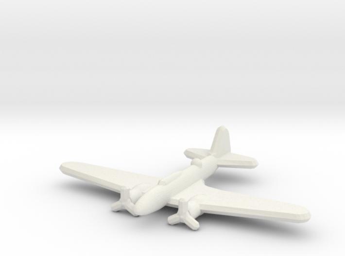 Ilyushin Il-4 1:900 3d printed