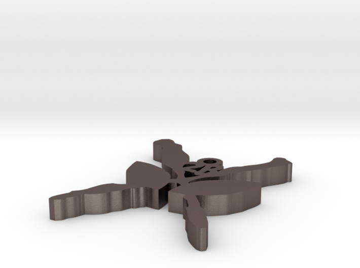 AxB Keyring V02 3d printed