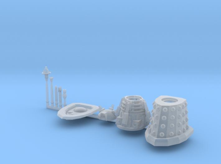 Dalek Supreme Sprue 016c 3d printed