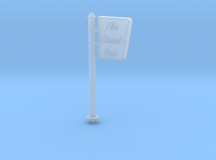 HO-Scale Drive-In Sign 3d printed