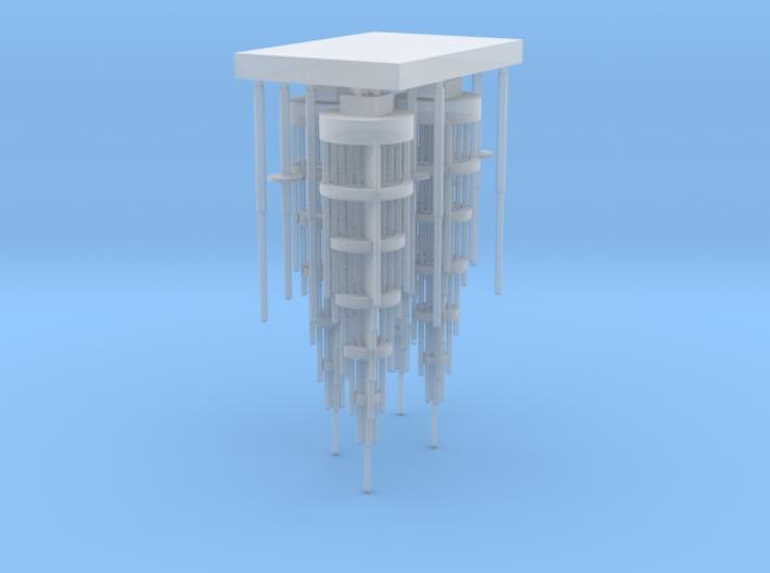 tower center antennas 3d printed