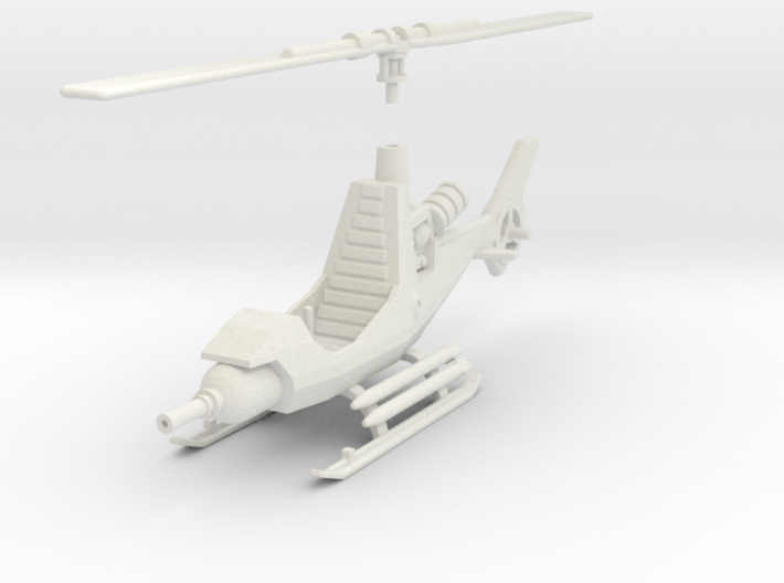 TA08 Attack Gyrocopter (28mm) 3d printed