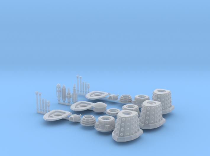 Dalek Support Cadre 016c 3d printed