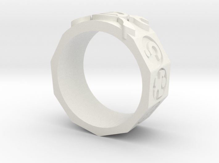 AdventureRing 3d printed