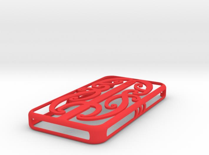 Maori Iphone 4 Cover 3d printed