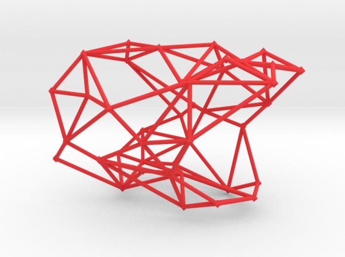WEB BANGLE 3d printed