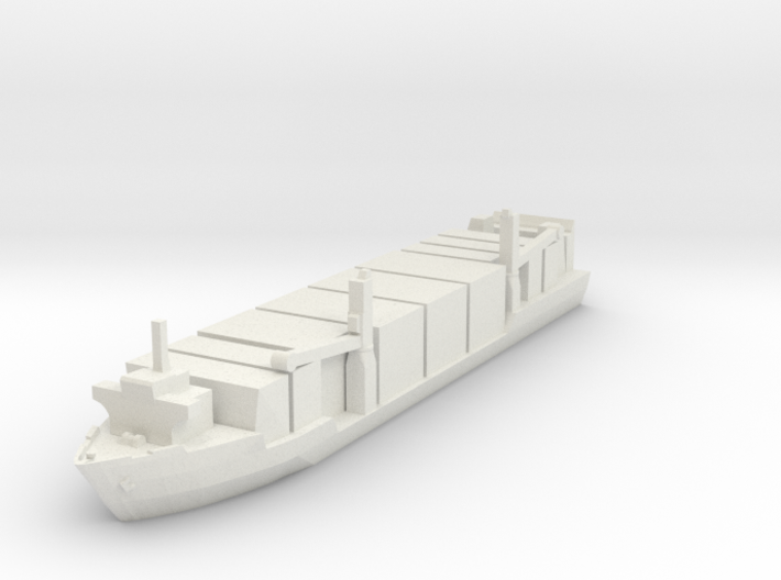 Singapore Tech. 400TEU Container Ship 1:1800 3d printed