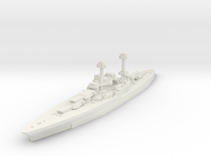 South Dakota Class (BB-49) 1:1800 x1 3d printed