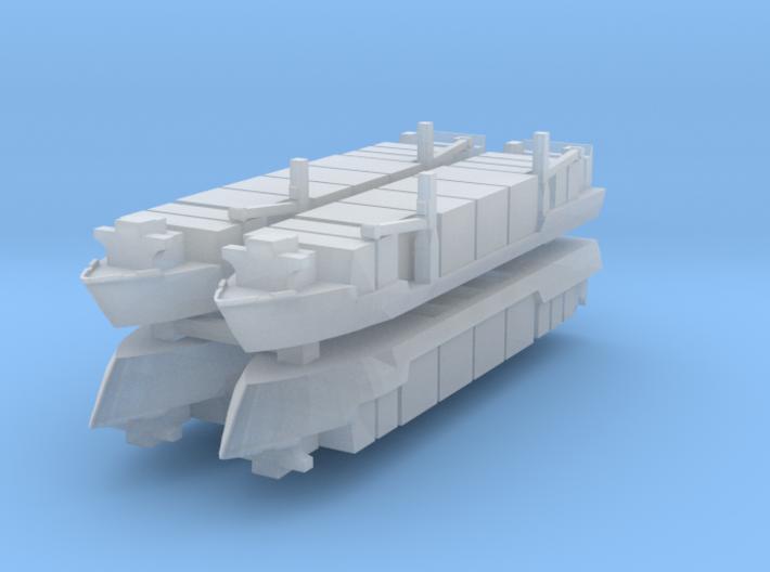 Singapore Tech. 400TEU Container Ship 1:4800 3d printed