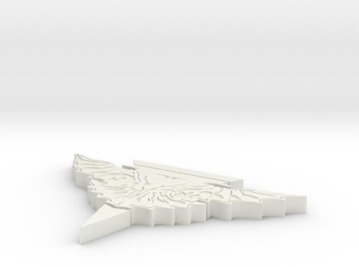 Romulan Stand 3d printed