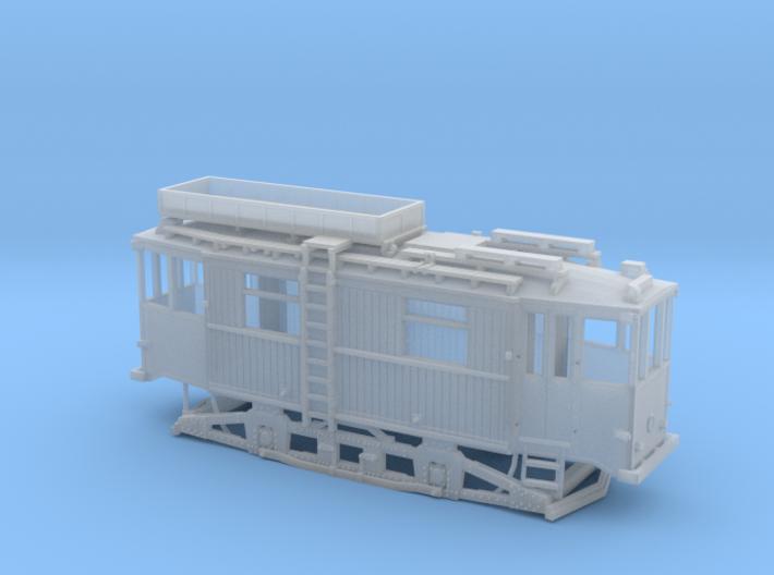 Tram Leipzig ATW 5060 Turmwagen (1:87) H0 3d printed