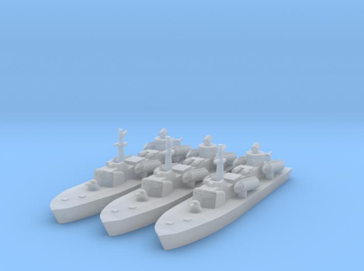 1/1250 Soviet OSA-2 Missile boat 3d printed