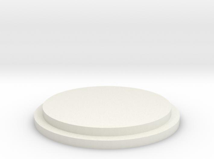 Pommel Insert - Blank 3d printed