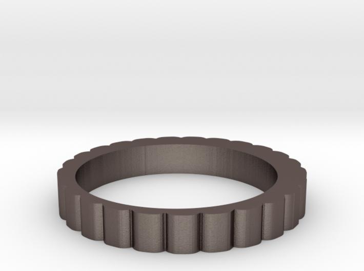 QQ Hair Ring 3d printed