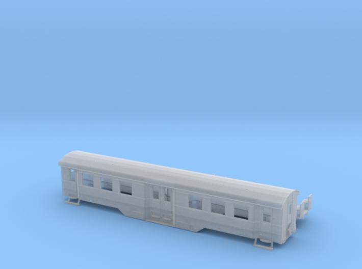 B4i der WLE in Spur TT (1:120) ohne Toilette 3d printed