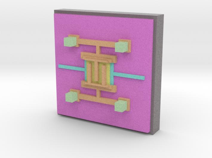 gamma-ray TES model 3d printed