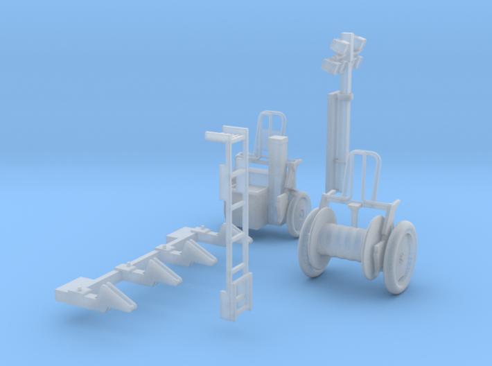 Haspeln, Aufstiegsleiter und Lima 3d printed