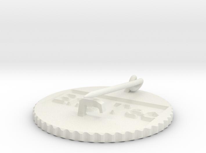 by kelecrea, engraved: Eng Tec 3d printed