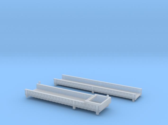 Leiterpritschen für Steck- und Schiebleiter 3d printed