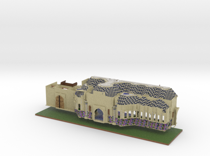 Alhambra 0.66 mm 3d printed