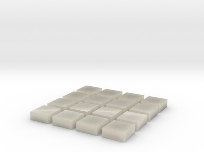 Baldosa 1 (x16) 3d printed