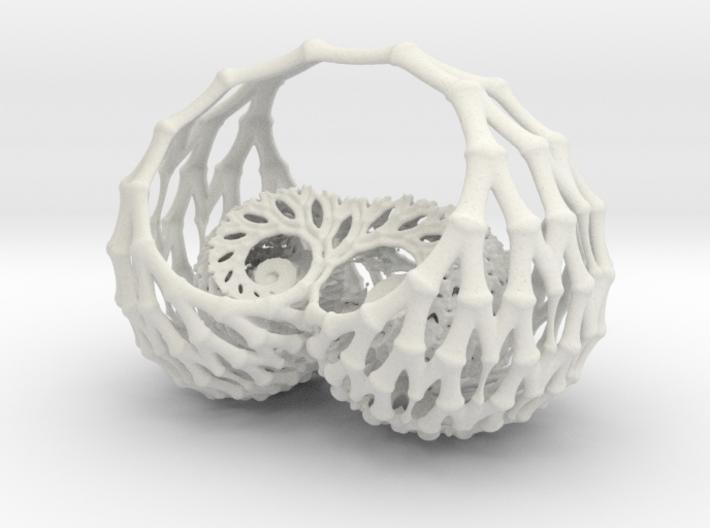 Duckie Basket 3d printed