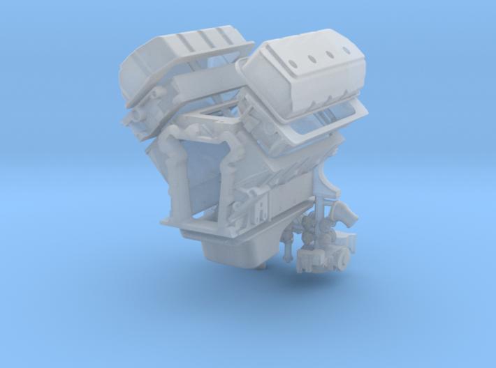 1/16 426 Hemi Basic Block Kit 3d printed