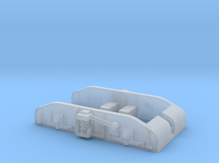 Drehgestellblenden Halbzug 3d printed